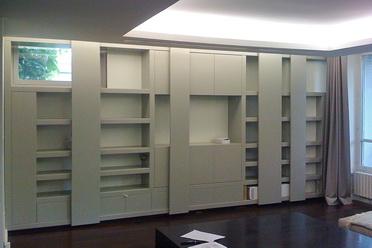 Rmarchi linda retter philippe macaigne architectes - Bibliotheque mdf sur mesure ...